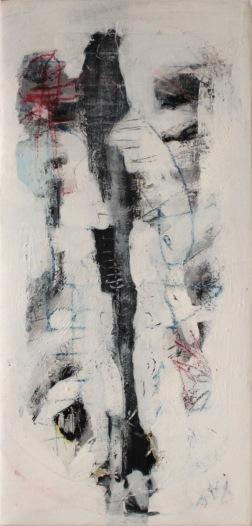serie blanca. tan ellos. 100cm x 47cm 2009 precio 1100