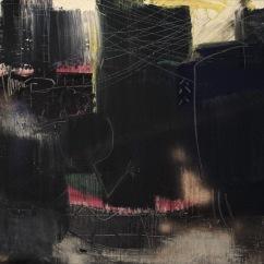 serie la melancolia es un espacio climatico. nocturno ciudad. 94cm x 178cm tecnica mixta sobre lienzo 2013 precio 2000