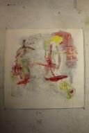 serie mi. ... ilusiones vagas. 150cm x 150cm tecnica mixta sobre papel 2005 precio 1200