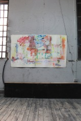 serie mi. arquitectura de un alegre mundo. 114cm x 191cm tecnica mixta sobre papel 2010 precio 1500