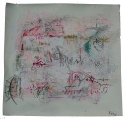 serie mi. deletreando el ruido. 150cm x 150cm tecnica mixta sobre papel 2010 precio 1200