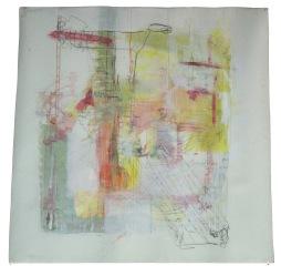 serie mi. espacio interior. 150cm x 150cm tecnica mixta sobre lienzo 2010 precio 1500