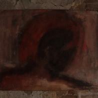 serie nostalgias. tierra. 65cm x 45cm tecnica mixta sobre papel 2006