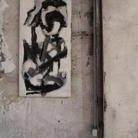 serie orquidea. el duelo. 55cm x 100cm tecnica mixta sobre lienzo 2008 precio 950